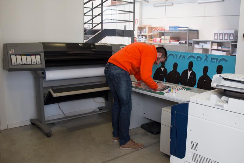impremta Novagràfic imprenta pre-impresión